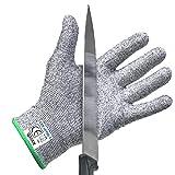 C'est la qualité qui compte! Les gants anti-coupure de Qayan sont fabriqués avec le plus haut niveau du matériau résistant aux coupures sur le marché – 4 fois plus résistant que le cuir- Protection anti – coupure de niveau 5 (EN 388). Ces gants sont ...