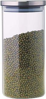 Borosil Classic Glass Jar for Kitchen Storage, 1.2 L