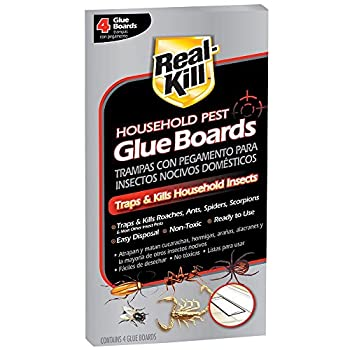 Real-Kill Household Pest Glue Boards  4-Count   1