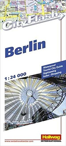 Berlin City Flash 1:24 000: Waterproof, Tourist City Guide, Sightseeing, Index, Shopping
