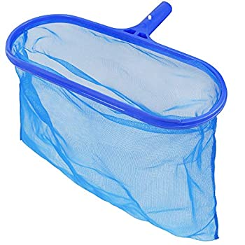 Blissun Pool Skimmer Net Fine Mesh Deep Bag Catcher Swimming Pool Leaf Rake Skimmer Net Cleaning Tool for Cleaning Swimming Pools Hot Tubs Spas and Fountains