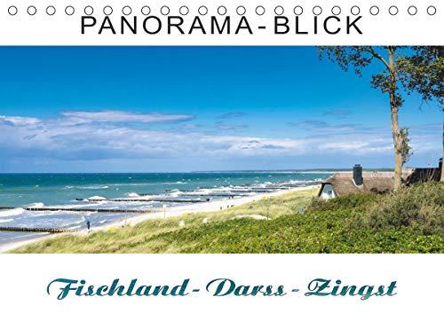 Panorama-Blick Fischland-Darss-Zingst (Tischkalender 2021 DIN A5 quer)