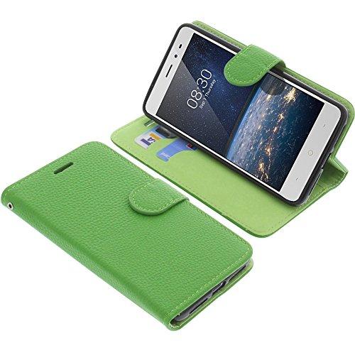 foto-kontor Tasche für TP-Link Neffos X1 Lite Book Style grün Schutz Hülle Buch