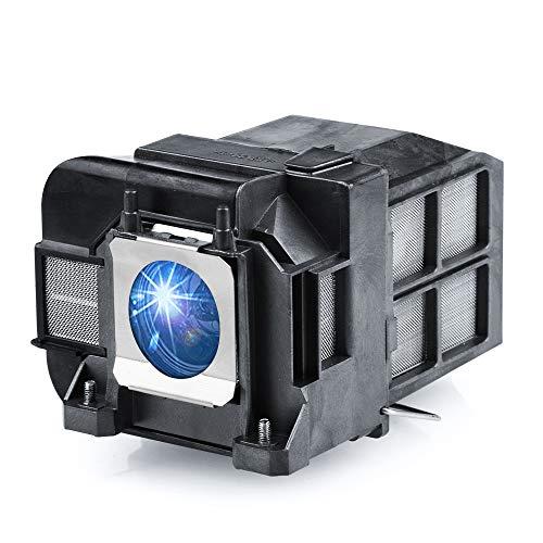 Huaute ELPLP77 / V13H010L77 Lámpara de proyector de Repuesto con Carcasa para Epson Powerlite 1975W 1980WU 1985WU 4650 4750W 4770W 4855WU G5910 HC 1440 PC 1985 EB-1970W 4855WU Proyector