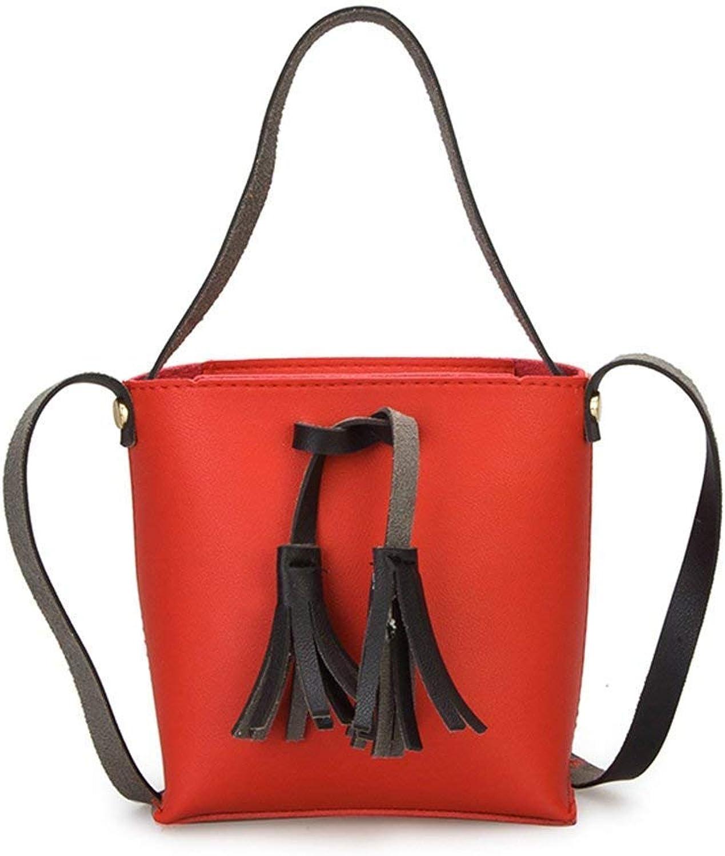 419b711f2 Bloomerang Cute Women PU Leather Handbag Shoulder Bag Candy color ...