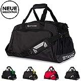 Stanno ® Sporttasche mit Handyfach und viel Volumen | Trainingstasche für Herren, Damen & Kinder -...