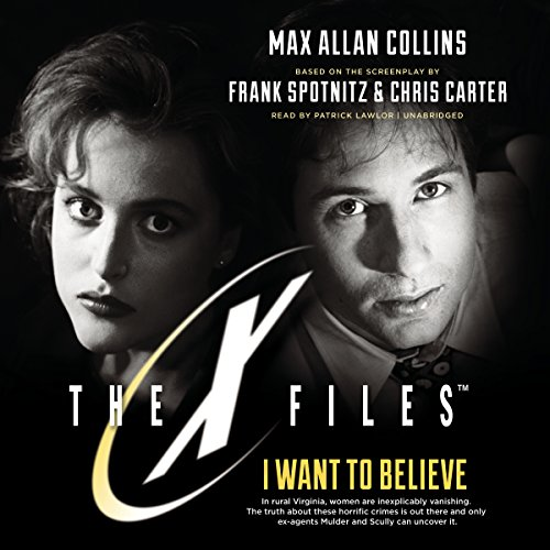 I Want to Believe audiobook cover art