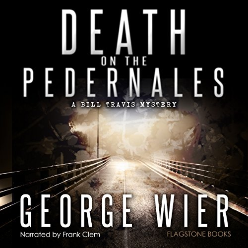 Death on the Pedernales audiobook cover art