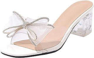 Transparentes 7 Amazon Zapatos Mujer 4 Cm Para esSandalias 54ARL3j