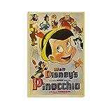 NBEI Walt Disney Pinocchio Anime-Poster,