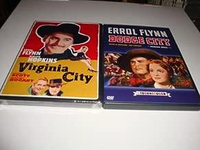 Errol Flynn DVD 2-Pack: Virginia City (1940) & Dodge City (1939) Randolph Scott, Errol Flynn, Oliva De Havilland