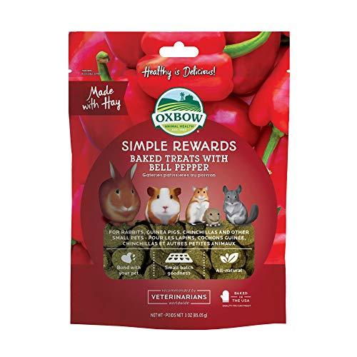 Oxbow Bell Pepper Simple Rewards Baked Treats