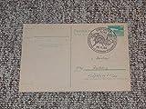 Postkarte DDR mit Sonderstempel '90. Geburtstag Polarforscher I. D. Papanin, Erfurt'