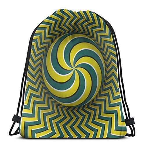 Óptica de múltiples esferas espirales con cordón Bapa bolsa de deporte gimnasio Sapa impermeable hombres mujeres cincha bolsa para viajes yoga playa escuela