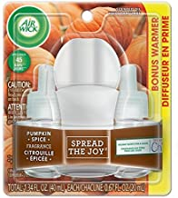Air Wick Pumpkin Spice Scented Oil (pack of 1)