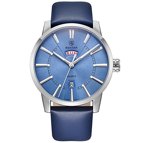 Waterproof 30M 2019 BENYAR Watches Men Luxury Brand Quartz Watch Fashion Sports Wristwatch Auto Date Week Casual Men's Watches