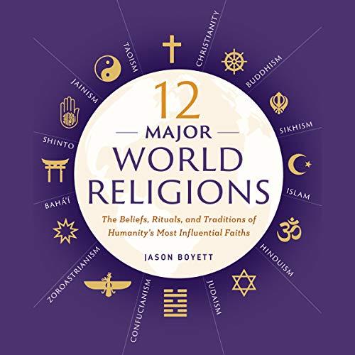 12 Major World Religions audiobook cover art
