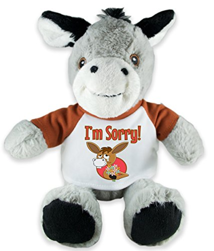 I'm Sorry Donkey Plush
