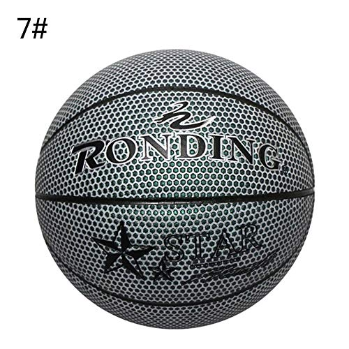 Review Unique Basketball,Glowing Reflective Basketball,Light Up Basketbal,Glowing Basketball with Pu...