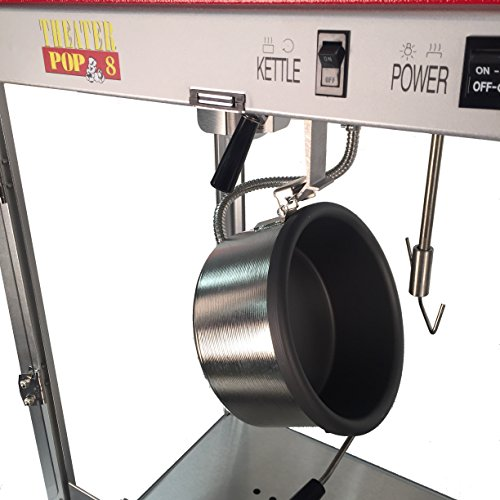 Product Image 8: Paragon Theater Pop 8 Ounce Popcorn Machine for Professional Concessionaires Requiring Commercial Quality High Output Popcorn Equipment