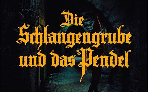 Amazon.com: The Torture Chamber of Dr. Sadism ( Die Schlangengrube und das  Pendel ) (Blu-Ray & DVD Combo) [ Blu-Ray, Reg.A/B/C Import - Germany ] :  Lex Barker, Karin Dor, Christopher Lee,
