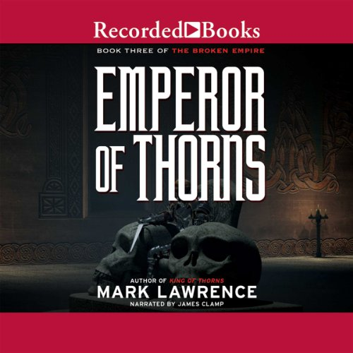 Page de couverture de Emperor of Thorns
