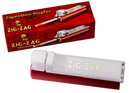 Zig-Zag Stopfmaschine für Standardfilterhülsen 8mm 3 Stopfmaschinen