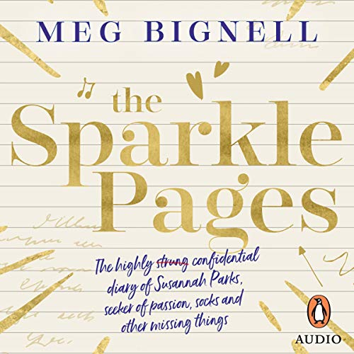 The Sparkle Pages audiobook cover art