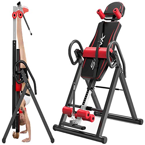 Why Should You Buy Exercise Equipment Inversion Table with Headrest & Adjustable Protective Belt Bac...