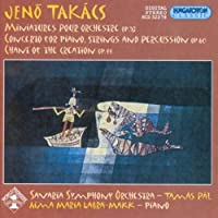 Miniatures Pour Orchestre Op 53 / Cto for Piano by TAKACS JENO (2003-01-07)