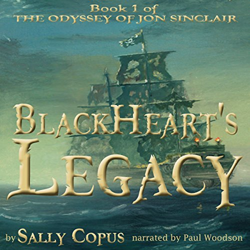 BlackHeart's Legacy audiobook cover art