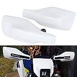 Protector Manillar Moto Paramanos H.usqvarna Guardamanos Moto para H.usqvarna FC 250 /350/450 TC 125/250 FE 250/350/450/501/501S TE 125/250/300 FX 350/450 TX 300-blanco