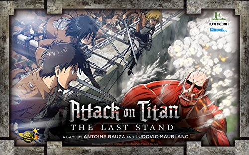 Cryptozoic Entertainment 2184 - Attack on Titan Tactical Boardgame