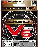 エックスブレイド(X-Braid) ユーゴ V6 ソフト 100m 1.2号 / 5LB