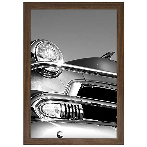 Americanflat Poster Frame, 12x18, Walnut