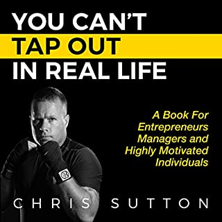 You Can't Tap Out in Real Life audiobook cover art