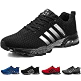 ziitop Men's Running Shoes Lightweight Breathable Air Cushion Sneakers Casual Athletic Walking Shoes