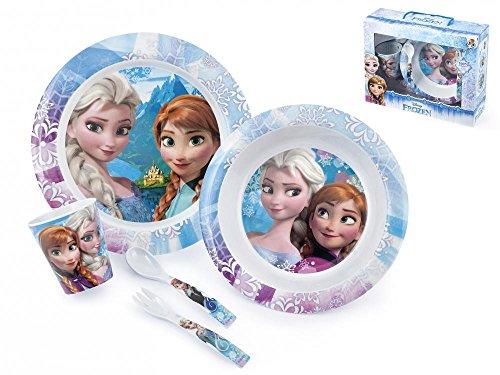 /Set Repas 5/pi/èces Bleu Ciel Disney Frozen/ 13471020