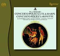 モーツァルト 「フルートとハープのための協奏曲&クラリネット協奏曲」 / SACD