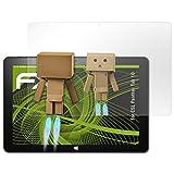 atFolix Bildschirmfolie kompatibel mit CSL Panther Tab 10 Spiegelfolie, Spiegeleffekt FX Schutzfolie