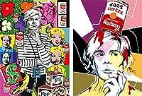 2 Andy Warhol - 3D Lenticular Postcard Greeting Cards - Juan Carlos Espejo - [並行輸入品]