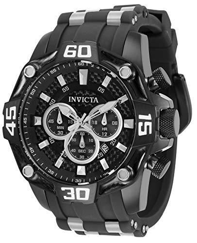 Invicta Men's Pro Diver 33843 Black Stainless-Steel Quartz Diving Watch
