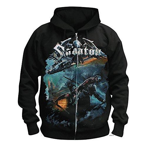 MAM Online Sabaton - Soldier - Kapuzenjacke/Zipper Größe L