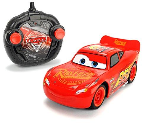 Majorette - Disney - Cars 3 - Voiture Radio Commandée - Turbo Racer Lightning Flash...