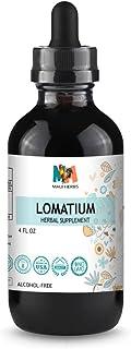 Lomatium Tincture 4 FL OZ Alcohol-Free Liquid Extract, Lomatium Root (Lomatium Dissectum)