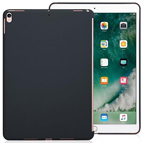 KHOMO iPad Air 3 10.5 (2019) / iPad Pro 10.5 (2017) Rückseite Abdeckung Hülle Hülle Schutzhülle Kompatibel mit Smart Cover & Testatur - Dunkelgrau