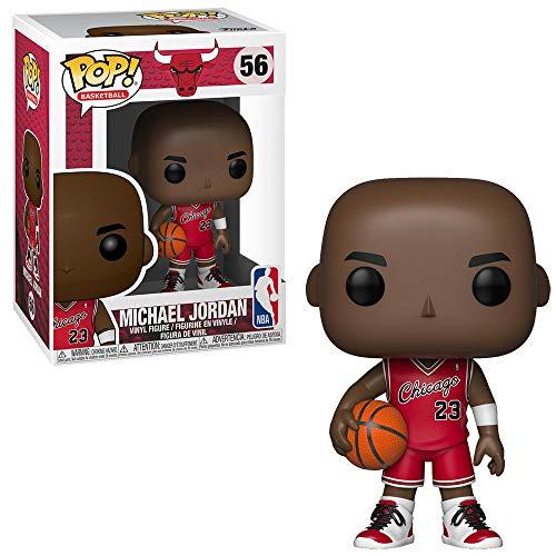 Funko Pop! - Pelota de Baloncesto 56 NBA Michael Jordan Chicago Bulls Red Rookie Uniform