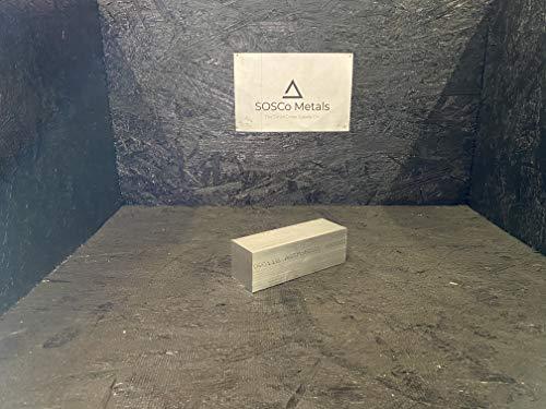 2' X 2' 6061 Square Aluminum Solid Flat BAR 6' Long +.1'/-0 T6511 New Mill Stock