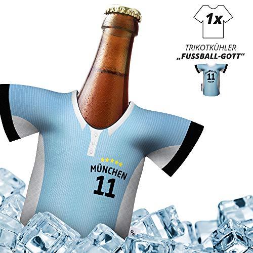 Herren Trikot 2019/20 kühler Home für 1860-Fans | FUßBALL-Gott | 1x Trikot | Fußball Fanartikel Jersey Bierkühler by Ligakakao