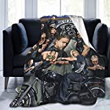 Sons of Anarchy Reaper Blanket Novelty Flannel Throw Blankets Luxury Ultra-Soft Micro Fleece Blanket for Bed Couch Sofa Blanket